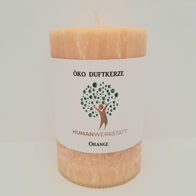 Eco scented candle orange