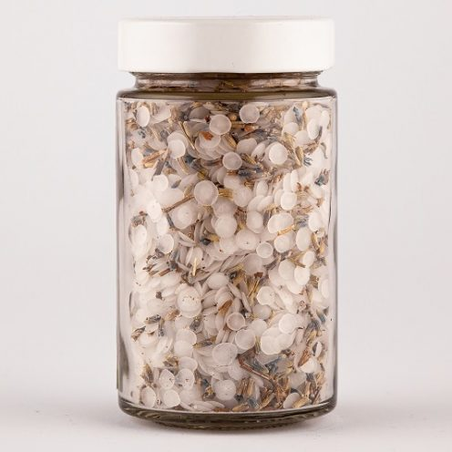 Magnesium flakes round with lavender