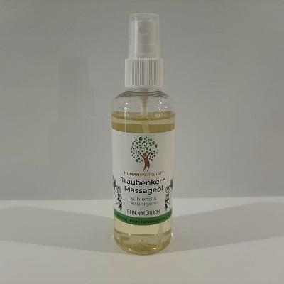 Traubenkern Massageöl kühlend & beruhigend